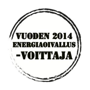 Vuoden 2014 EnergiaOivallus -voittaja